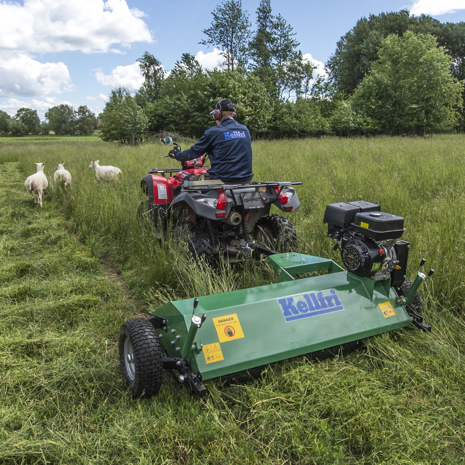 120cm ATV flail mower | Davies Implements