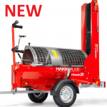 The New Hakki Pilke hawk 25 firewood processor