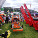 Norwood Band sawmill and Hakki Pilke on display at the RWAS show 2014