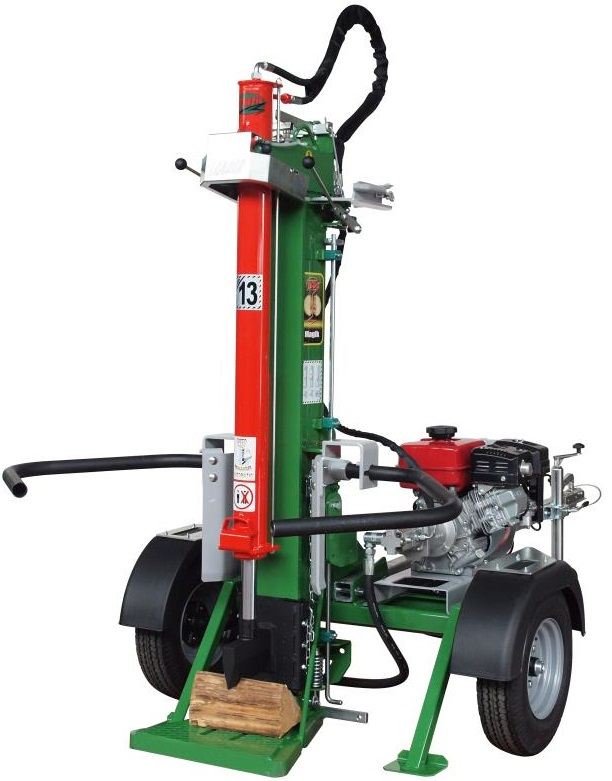 thor trailed petrol multiuse log splitter davies implements