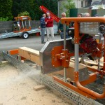 Norwood LumberMate 2000 being demonstrated at our demo day 2007