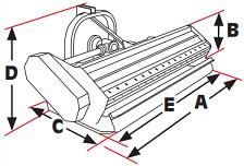 ORSI dimensions drawing small