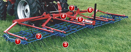Opico grass harrow .4