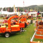 Norwood Band sawmill and Timberwolf on display at the RWAS show 2011
