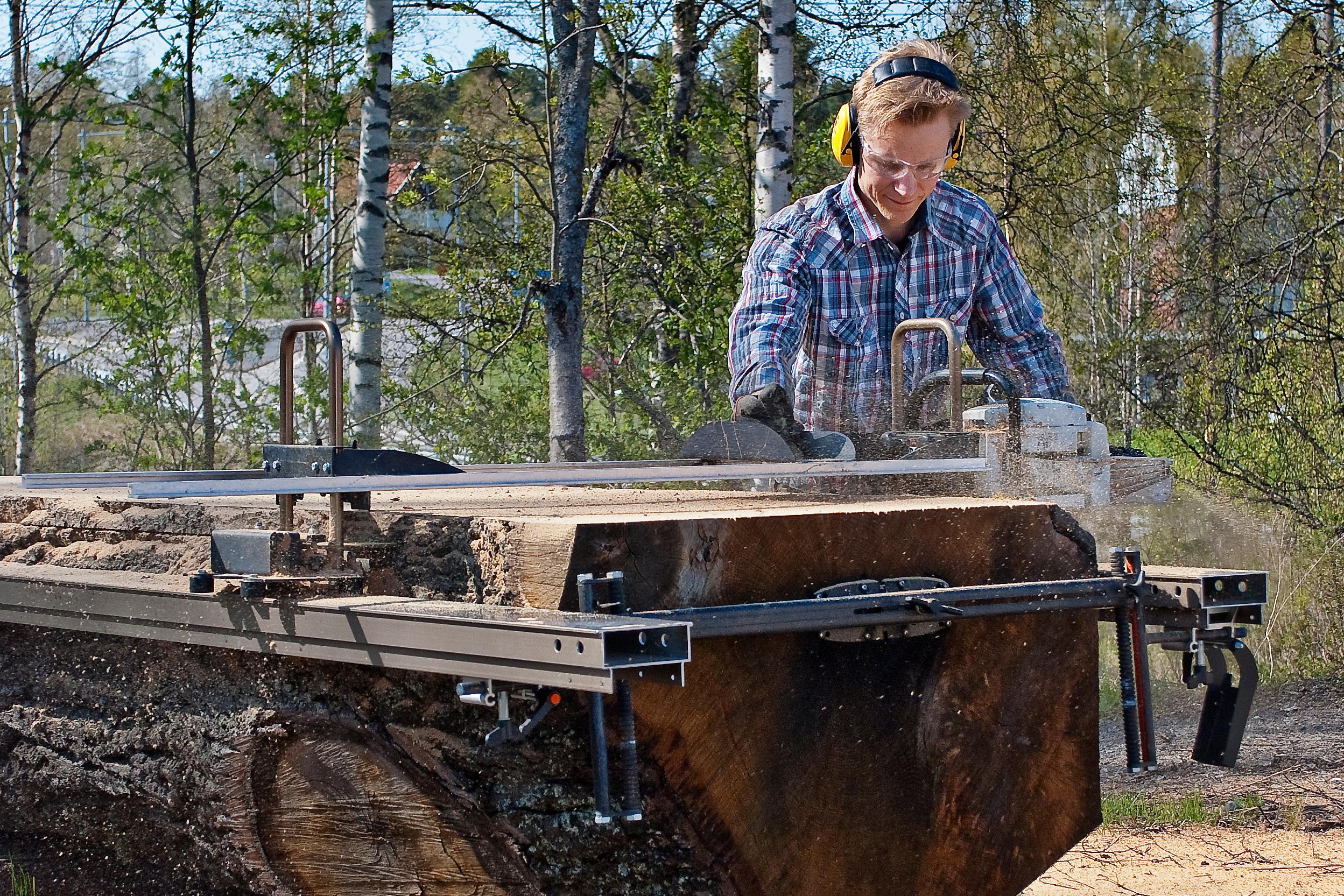 logosol big mill chainsaw sawmill system