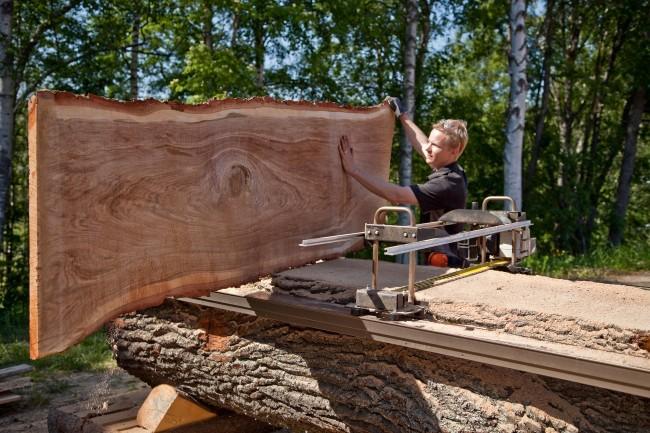 Logosol Big Mill Chainsaw Sawmill System Davies Implements