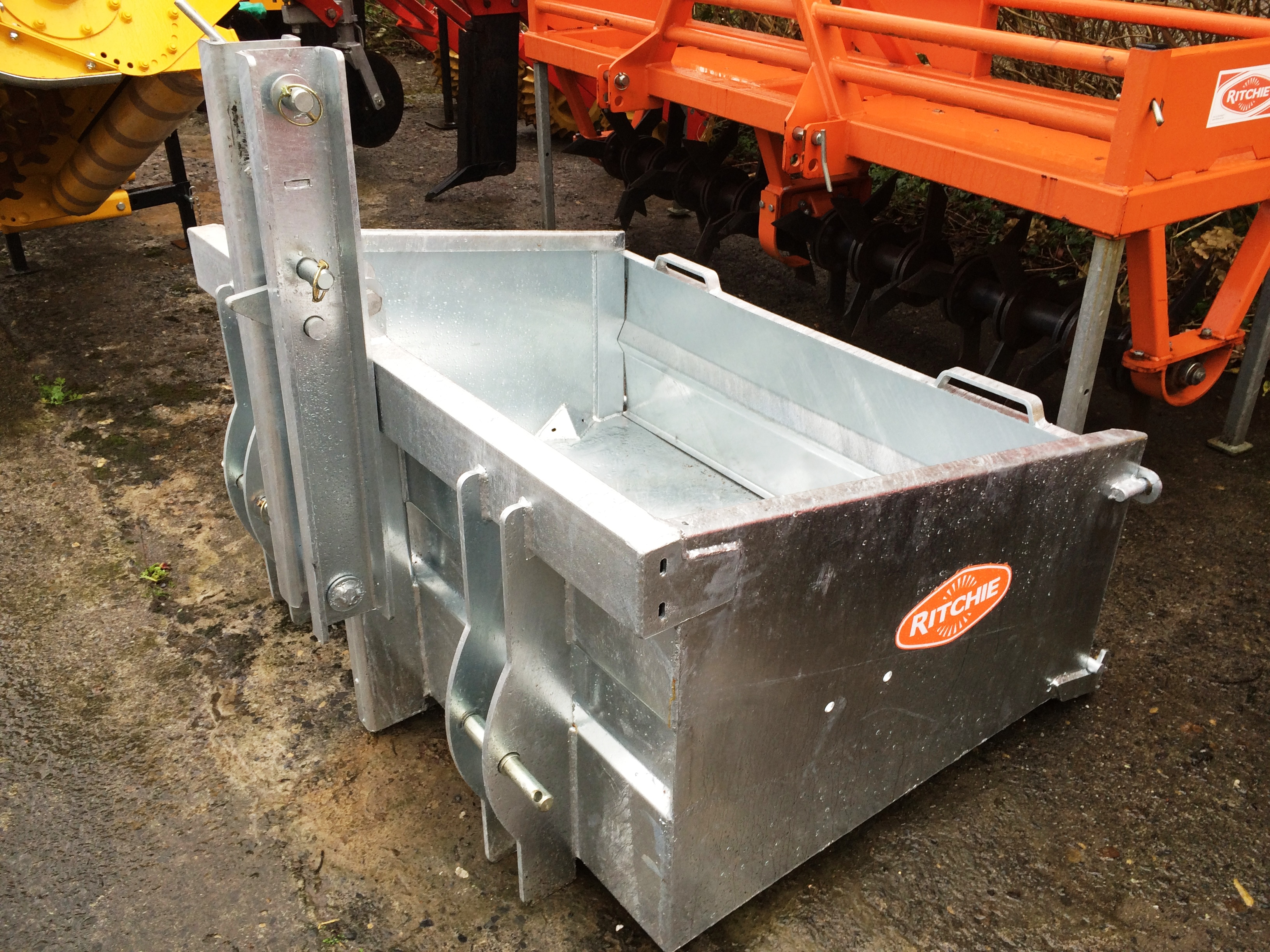 Galvanised Tractor Transport Box Davies Implements