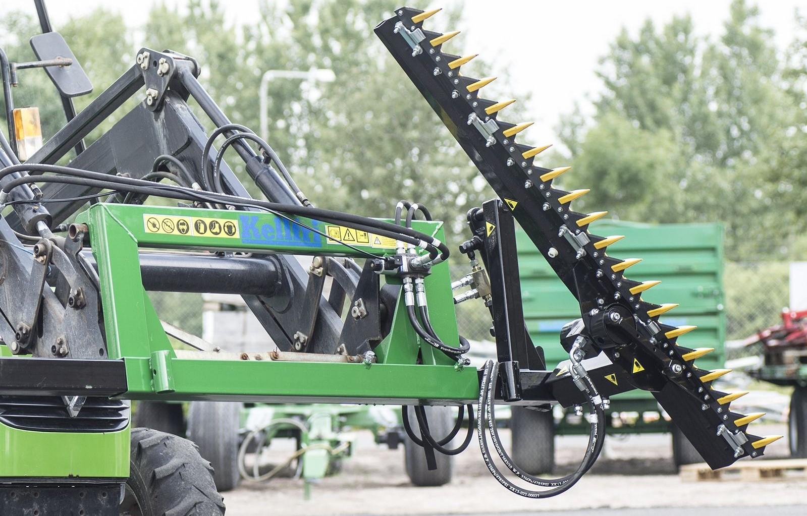 Kellfri Hedge cutter for front loader