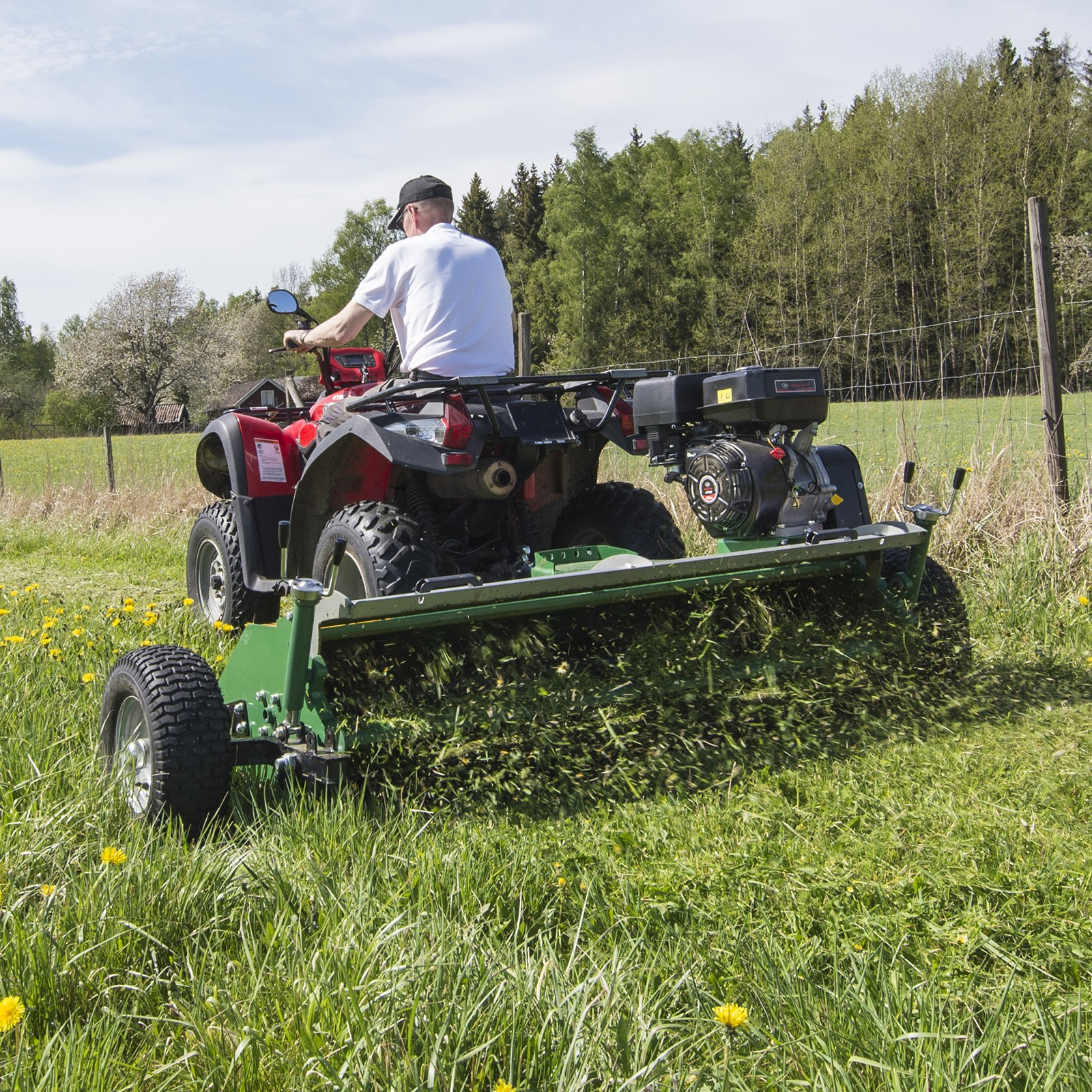 150cm ATV flail mower | Davies Implements