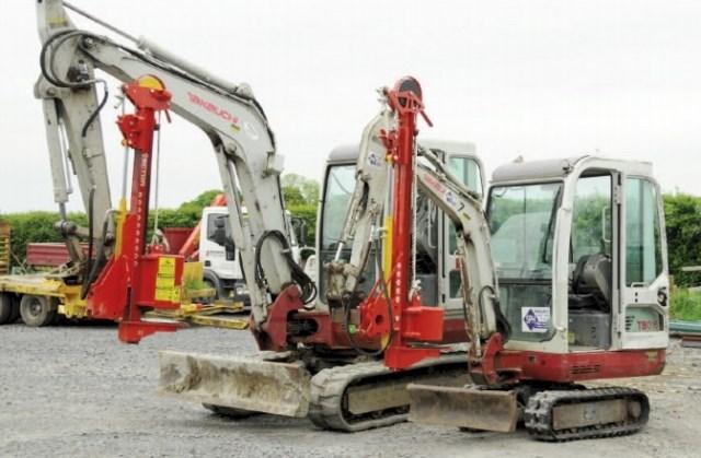 Model 6: Mini-Excavator Post knocker | Davies Implements